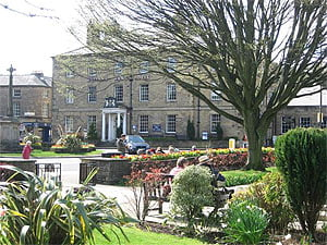 The centre of Bakewell
